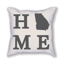 Load image into Gallery viewer, Georgia Home State Pillow - Home Sweet Pillow Co