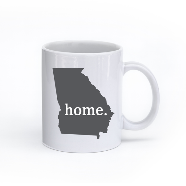 Georgia Home State Mug - Home Sweet Pillow Co