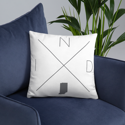 Indianapolis Home Pillow - Home Sweet Pillow Co