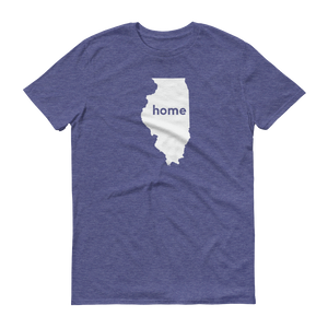 Illinois Home T-Shirt - Home Sweet Pillow Co