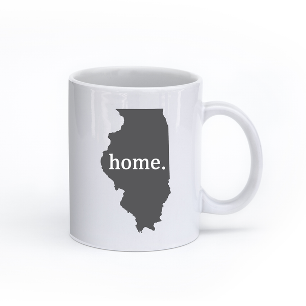 Illinois Home State Mug - Home Sweet Pillow Co