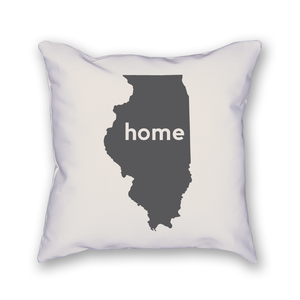 Illinois Pillow - Home Sweet Pillow Co