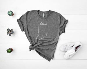 Indiana Love Shirt - Home Sweet Pillow Co