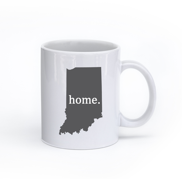 Indiana Home State Mug - Home Sweet Pillow Co