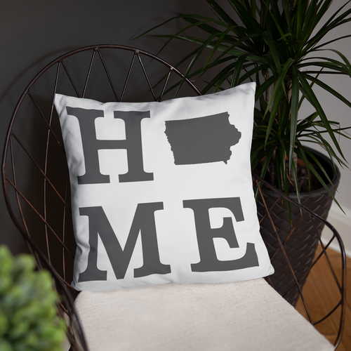 Iowa Home State Pillow - Home Sweet Pillow Co