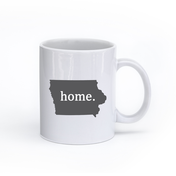 Iowa Home State Mug - Home Sweet Pillow Co
