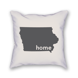 Iowa Pillow - Home Sweet Pillow Co