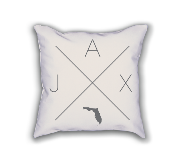 Jacksonville Home Pillow - Home Sweet Pillow Co