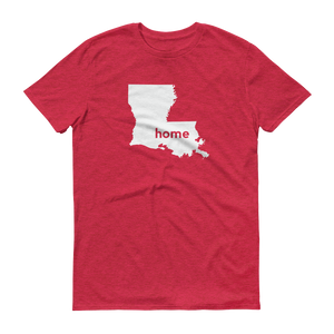 Louisiana Home T-Shirt - Home Sweet Pillow Co