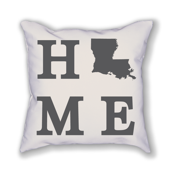 Louisiana Home State Pillow - Home Sweet Pillow Co