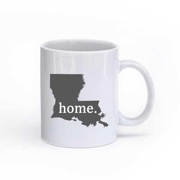 Louisiana Home State Mug - Home Sweet Pillow Co