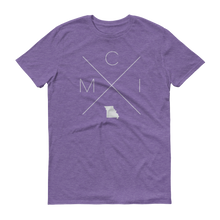 Load image into Gallery viewer, MCI – Kansas City International Airport Tee - Home Sweet Pillow Co
