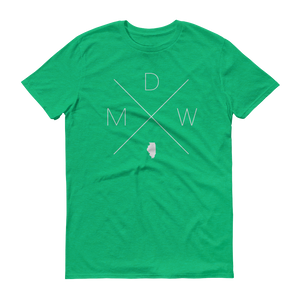 MDW – Chicago Midway International Airport Tee - Home Sweet Pillow Co