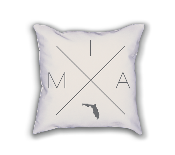 Miami Home Pillow - Home Sweet Pillow Co