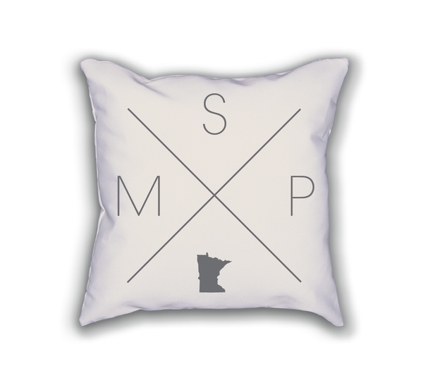 Minneapolis Home Pillow - Home Sweet Pillow Co