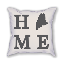 Load image into Gallery viewer, Maine Home State Pillow - Home Sweet Pillow Co