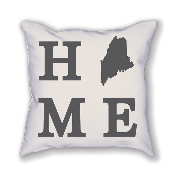 Maine Home State Pillow - Home Sweet Pillow Co