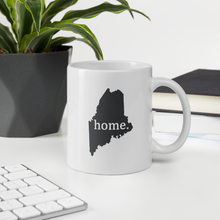 Load image into Gallery viewer, Maine Home State Mug - Home Sweet Pillow Co
