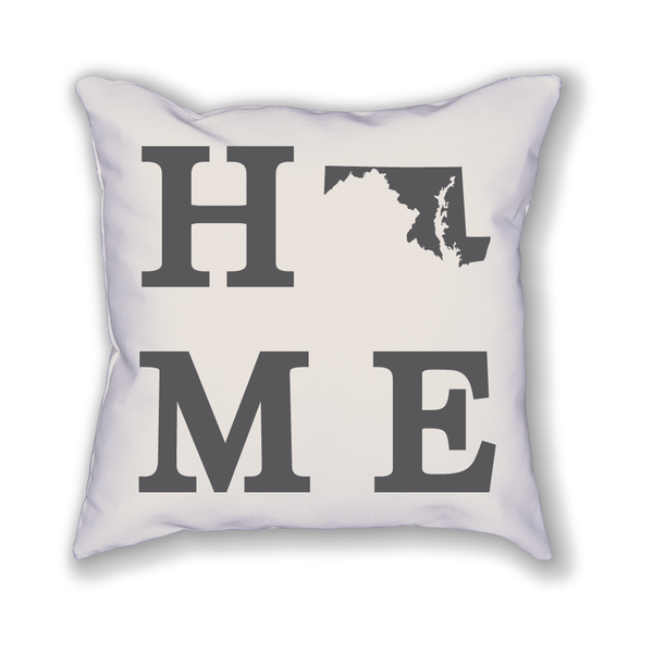 Maryland Home State Pillow - Home Sweet Pillow Co