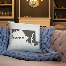 Load image into Gallery viewer, Maryland Pillow - Home Sweet Pillow Co