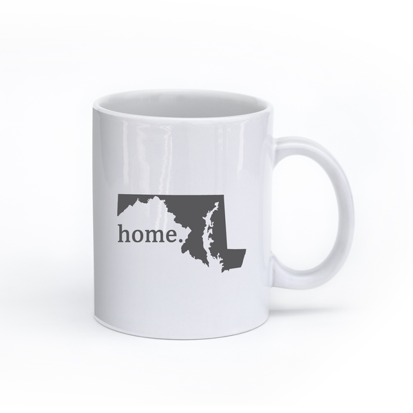 Maryland Home State Mug - Home Sweet Pillow Co