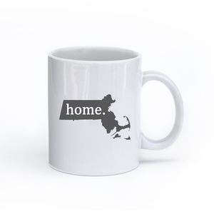 Massachusetts Home State Mug - Home Sweet Pillow Co