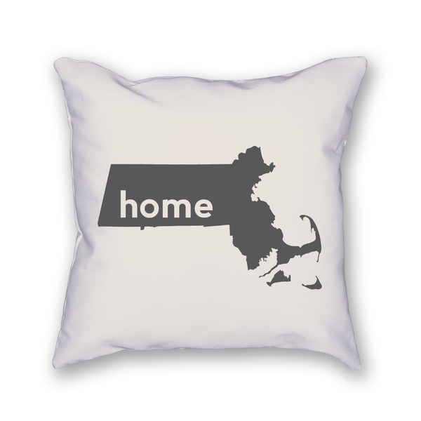 Massachusetts Pillow - Home Sweet Pillow Co
