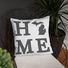 Load image into Gallery viewer, Michigan Home State Pillow - Home Sweet Pillow Co