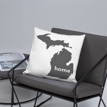 Load image into Gallery viewer, Michigan Pillow - Home Sweet Pillow Co
