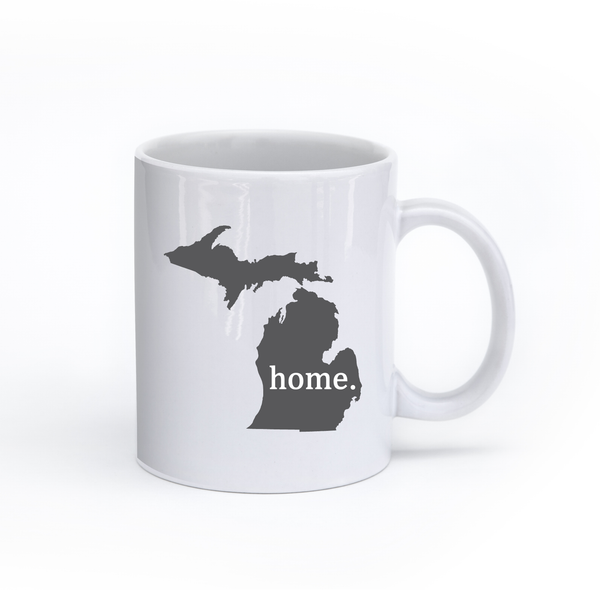 Michigan Home State Mug - Home Sweet Pillow Co