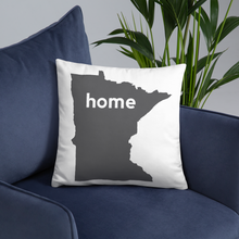 Load image into Gallery viewer, Minnesota Pillow - Home Sweet Pillow Co
