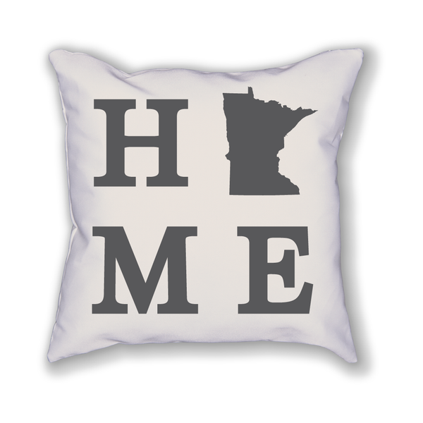 Minnesota Home State Pillow - Home Sweet Pillow Co