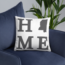 Load image into Gallery viewer, Mississippi Home State Pillow - Home Sweet Pillow Co