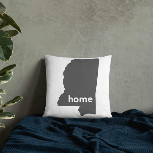Mississippi Pillow - Home Sweet Pillow Co