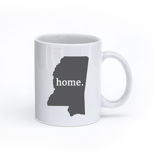 Mississippi Home State Mug - Home Sweet Pillow Co