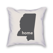 Load image into Gallery viewer, Mississippi Pillow - Home Sweet Pillow Co