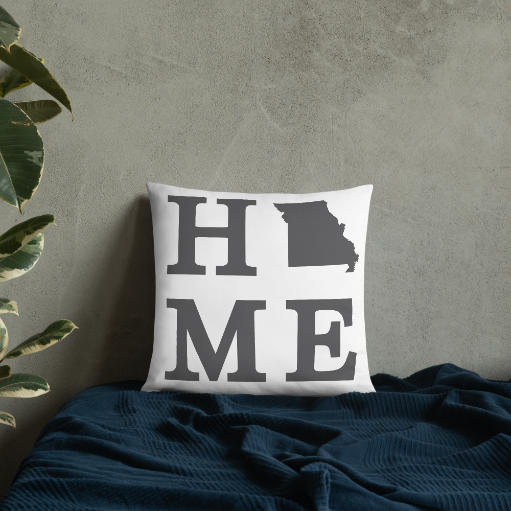 Missouri Home State Pillow - Home Sweet Pillow Co