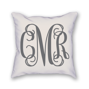 Custom Monogram Pillow - Home Sweet Pillow Co
