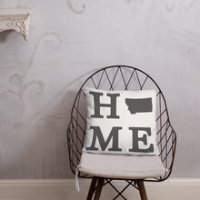 Load image into Gallery viewer, Montana Home State Pillow - Home Sweet Pillow Co