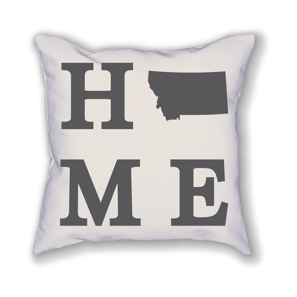 Montana Home State Pillow - Home Sweet Pillow Co