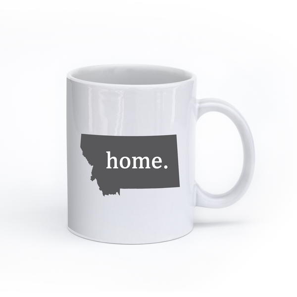 Montana Home State Mug - Home Sweet Pillow Co