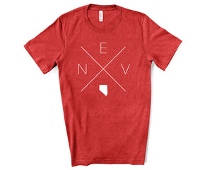 Nevada Home Tee - Home Sweet Pillow Co