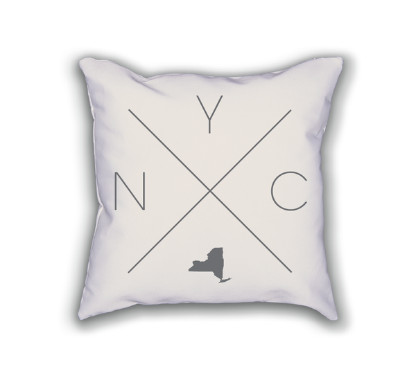 New York Home Pillow - Home Sweet Pillow Co