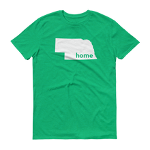 Load image into Gallery viewer, Nebraska Home T-Shirt - Home Sweet Pillow Co
