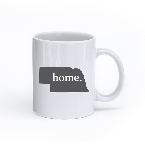 Nebraska Home State Mug - Home Sweet Pillow Co