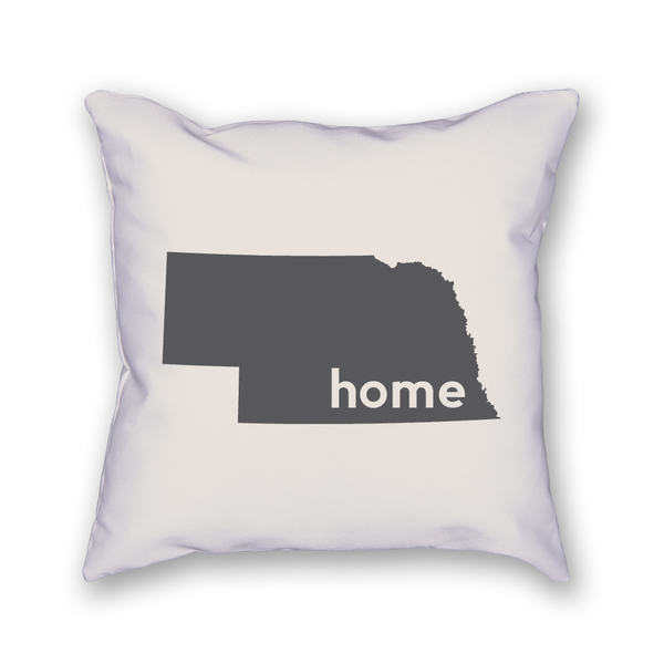 Nebraska Pillow - Home Sweet Pillow Co
