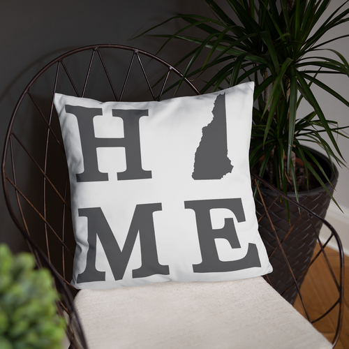 New Hampshire Home State Pillow - Home Sweet Pillow Co