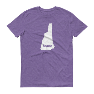 New Hampshire Home T-Shirt - Home Sweet Pillow Co