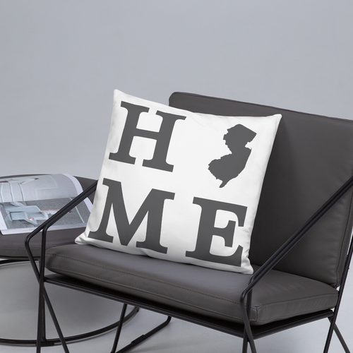 New Jersey Home State Pillow - Home Sweet Pillow Co