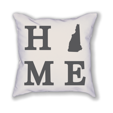 Load image into Gallery viewer, New Hampshire Home State Pillow - Home Sweet Pillow Co
